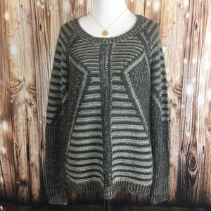 NWT Design History Wool Zip Knit Sweater